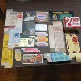 empty boxes from 40s 50s  see pics ink blotters ,coke, in Naperville, Illinois