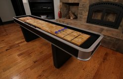 9ft Atomic Shuffleboard Game - LIKE NEW! in Plainfield, Illinois