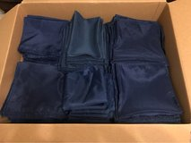 186 Navy Cloth Napkins and 11 Table Runners in Houston, Texas