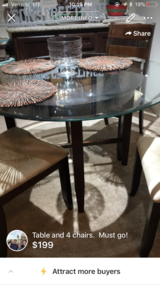 Table and 4 chairs in Houston, Texas
