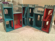 Custom Painted Wooden Play Castle in Vacaville, California