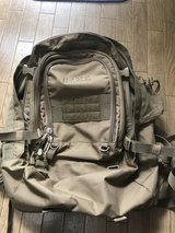marine back pack in Okinawa, Japan