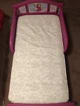 Frozen ToddlerBed & matching bedset in Fort Polk, Louisiana