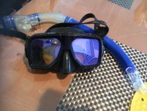 Dive Mask and Snorkle, Tempered Glass in Okinawa, Japan
