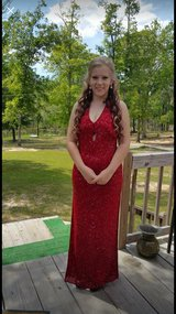 long red formal dress in DeRidder, Louisiana