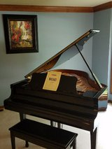 "Yamaha C2 Ebony 5'8"" Baby Grand Piano in Naperville, Illinois"