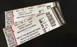 MASTERS OF ILLUSION TICKETS AT INN OF MOUNTAIN GODS in Alamogordo, New Mexico