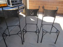 3 medal chairs I do have the wood for seating but needs covering in Alamogordo, New Mexico