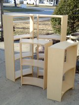 Tall Curved Bookcase in Westmont, Illinois
