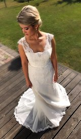 Wedding dress in Ramstein, Germany