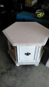 Shabby Chic Octagon End Table in DeRidder, Louisiana