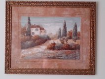 Framed Tuscany Picture in Orland Park, Illinois