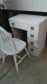 Shabby Sewing Canbinet & Chair in DeRidder, Louisiana