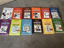 Diary of a wimpy kid books. in Lakenheath, UK