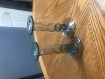 Hand Blown Glass Candlestick Holders in Alamogordo, New Mexico