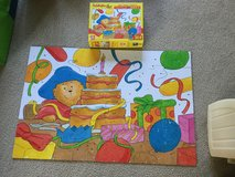 Paddington Birthday Party Floor Puzzle in Shorewood, Illinois