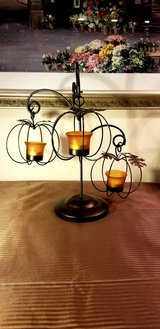 Beautiful Halloween Or Fall Centerpiece Tealight Candle Holder in Naperville, Illinois