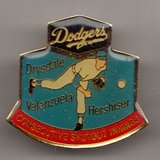 1991 Dodgers MLB Baseball World Series Los Angeles Collectible Lapel Pin Button in Houston, Texas