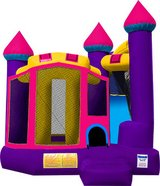 Purple/Pink Castle Bounce House in Sacramento, California