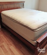 Queen bed with mattress included in DeRidder, Louisiana