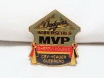 MVP Dodgers MLB Baseball World Series Los Angeles Lapel Pin Koufax Sherry Cey in Kingwood, Texas