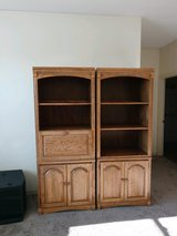 Bookcase Wall Unit Solid Wood in Bolingbrook, Illinois