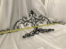 3 pieces wrought iron wall decor in Naperville, Illinois