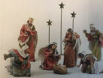 9 Piece Nativity Set in Naperville, Illinois