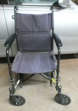 Folding Wheel Chair With accessories in Alamogordo, New Mexico
