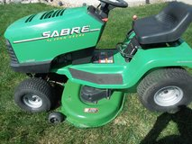 """Sabre Lawn Tractor by John Deere 42"""" in New Lenox, Illinois"""
