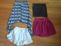 Lot of four womens size small skirts in Wheaton, Illinois