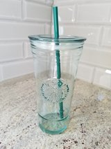 New Starbucks 20 oz. recycled glass venti tumbler in Chicago, Illinois