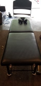 Massage table in Fort Riley, Kansas