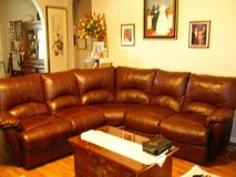 3 piece sectional leather sofa in Fort Hood, Texas