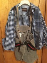 Kids lederhosen and checked shirt (size 134) in Stuttgart, GE