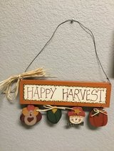 Happy Harvest Sign in Kingwood, Texas