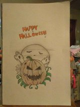 Halloween drawing for sale in Fort Polk, Louisiana