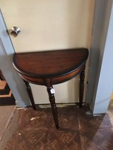 Small halfTable 12 inches deep 23 inches wide 29 inches tall in Houston, Texas