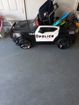 Police Car Power Wheels in Camp Lejeune, North Carolina