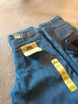 Mens flannel jeans in Orland Park, Illinois