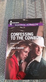 Harlequin Suspense, Cowboy Cafe series:  Confessing to the Cowboy, New, Paperback, 2013. in Warner Robins, Georgia