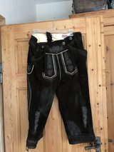 New Original mens  bavarian leather pants Oktoberfest in Ramstein, Germany