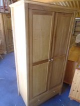 Oak wardrobe with drawer in Lakenheath, UK