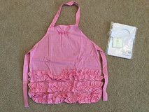 Pottery Barn Kids gingham apron in Naperville, Illinois