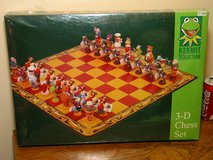 NEW Muppets Chess Set by Jim Henson in Bartlett, Illinois