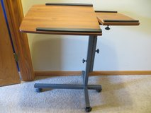 Overbed Laptop Table on Wheels in St. Charles, Illinois