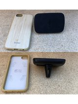 iPhone 7/8 Bamboo case with Magnetic car Mount in Baumholder, GE