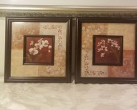 Pair of Frame Pictures with Flowers in Joliet, Illinois