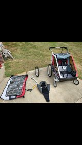 chariot cougar2 double stroller in Fort Rucker, Alabama
