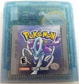 Pokemon Crystal original GBC or GB Advanced in Kansas City, Missouri
